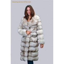 ¾ fur coat