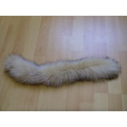 Fox fur collar for child parka